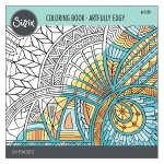 Sizzix - Coloring Book - Artfully Edgy by Jen Long