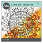 Sizzix - Coloring Book - Bohemian Spirit by Lindsey Serata