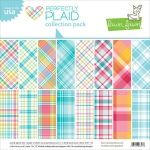 Lawn Fawn - Perfectly Plaid Winter - Collection Pack 12x12