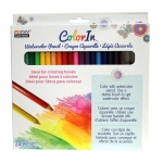 Marvy Uchida - Color In - Watercolor Pencils 24 Pc Set