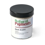 Natural Pigments Gum Arabic (Pebbles) 4 oz vol
