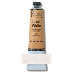 Natural Pigments Lead White Oil Paint 50 ml - Color: White