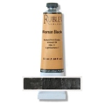 Natural Pigments Roman Black 130 ml - Color: Black