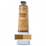 Natural Pigments Orange Ocher 50 ml - Color: Yellow