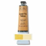 Natural Pigments Lead-Tin Yellow Dark 50 ml - Color: Yellow