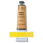 Natural Pigments Naples Yellow Dark (Lead Antimonate) 50 ml - Color: Yellow