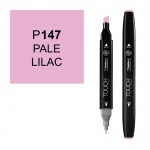 ShinHan Art TOUCH Twin Pale Lilac Marker: Black, Purple, Double-Ended, Alcohol-Based, Refillable, Dual, (model 1110147-P147), price per each