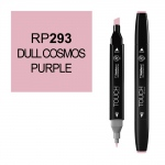 ShinHan Art TOUCH Twin Dull Cosmos Purple Marker; Barrel Color: Black; Color: Purple; Double-Ended: Yes; Ink Type: Alcohol-Based; Refillable: Yes; Tip Type: Dual; (model 1110293-RP293), price per each