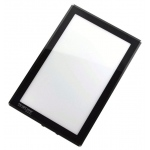 "Porta-Trace® 11"" x 18"" The Light Panel™ (LED Light/Black Frame): Black/Gray, Plexiglas, 11"" x 18"", (model 1118LPBLK), price per each"