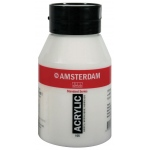 Royal Talens Amsterdam® All Acrylic Standard Series 500ml Titanium White; Color: White/Ivory; Format: Jar; Size: 500 ml; Type: Acrylic; (model 17721052), price per each