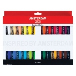 Royal Talens Amsterdam® All Acrylic Standard Ser 24-Color Paint Set 20ml; Color: Multi; Format: Tube; Size: 20 ml; Type: Acrylic; (model 17820424), price per set