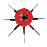 Reeko 10 in 1 Multi-Tool with Dual LED Lights; Type: General Purpose, Tool; (model 21031-0), price per each