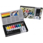 Royal Talens van Gogh® Oil 10-Color Set; Color: Multi; Format: Tube; Size: 20 ml; Type: Oil; (model 2820410), price per set