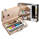 Royal Talens van Gogh® Oil Color Basic Box Set: Multi, Tube, 40 ml, Oil, (model 2840510), price per set