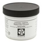 Daniel Smith Watercolor Ground 4oz Titanium White; Color: White/Ivory; Format: Jar; Size: 4 oz; Type: Watercolor; (model 284055002), price per each
