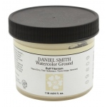 Daniel Smith Watercolor Ground 4oz Buff Titanium; Color: Brown; Format: Jar; Size: 4 oz; Type: Watercolor; (model 284055005), price per each