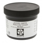 Daniel Smith Watercolor Ground 4oz Mars Black: Black/Gray, Jar, 4 oz, Watercolor, (model 284055007), price per each