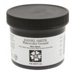 Daniel Smith Watercolor Ground 4oz Mars Black: Black/Gray, Jar, 4 oz, Watercolor, (model 284055007), price per each