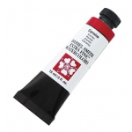 Daniel Smith Extra Fine™ Watercolor 15ml Carmine; Color: Red/Pink; Format: Tube; Size: 15 ml; Type: Watercolor; (model 284600020), price per tube