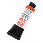 Daniel Smith Extra Fine™  Watercolor 15ml Permanent Orange; Color: Orange; Format: Tube; Size: 15 ml; Type: Watercolor; (model 284600071), price per tube