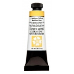 Daniel Smith Extra Fine™ Watercolor 15ml Cadmium Yellow Medium Hue; Color: Yellow; Format: Tube; Size: 15 ml; Type: Watercolor; (model 284600184), price per tube