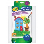 "Crayola® White Creativity Canvas Boards: White/Ivory, Panel/Board, 2-Pack, 9"" x 12"", Panel/Board, (model 54-1053), price per 2-Pack"