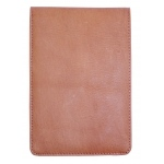 Hand Book Journal Co.™ Quattro™ Leather Pad Holder Saddle Brown: Black/Gray, Leather, (model 60410), price per each