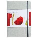 "Hand Book Journal Co.™ Travelogue Series Watercolor Journal 8.25"" x 5.5"" Large Portrait Linen; Material: Linen; Quantity: 60 Sheets; Size: 5 1/2"" x 8 1/4""; Weight: 110 lb; (model 769855), price per each"