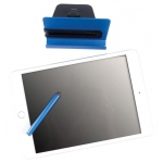Reeko Smartphone/Tablet Stand with Touchpen: Blue, Steel, Cell Phone Holders, Stylus, (model 80116-3), price per each