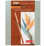 Bruynzeel® Design® Colored Pencil 12-Set; Color: Multi; Lead Size: 3.8mm; Type: Drawing; (model 8805H12), price per set