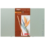 Bruynzeel® Design® Colored Pencil 24-Set; Color: Multi; Lead Size: 3.8mm; Type: Drawing; (model 8805H24), price per set