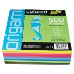 "Folia® Origami Paper 6"" x 6"": Assorted, 500 Sheets, 6"" x 6"", (model 8965), price per 500 Sheets"