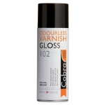 Royal Talens Cobra® Odorless Gloss Varnish; Finish: Gloss; Size: 400 ml; Type: Varnish; (model 95164102), price per each