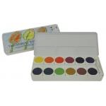 Royal Talens Talens® 24-Color Gouache Paint Set; Color: Multi; Format: Pan, Tube; Size: 5 ml; Type: Watercolor; (model 95930024), price per each