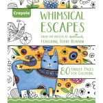 """Crayola® Aged Up Coloring Book Whimsical Escapes: Book, 8 1/2"""" x 10"""", (model 99-2021), price per each"""