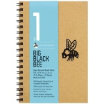 "Bee Paper® Big Black Bee Bogus Recycled Rough Sketch Paper Pad 9"" x 6""; Binding: Wire Bound; Color: Brown; Format: Pad; Quantity: 50 Sheets; Size: 6"" x 9""; Type: Drawing; Weight: 70 lb; (model B202CB50-609), price per 50 Sheets pad"