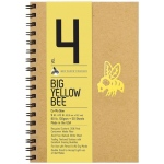 "Bee Paper® Big Yellow Bee Co-Mo Draw Paper 9"" x 6""; Binding: Wire Bound; Color: White/Ivory; Format: Pad; Quantity: 50 Sheets; Size: 9"" x 6""; Type: Drawing; Weight: 80 lb; (model B205CB50-609), price per 50 Sheets pad"