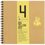 "Bee Paper® Big Yellow Bee Co-Mo Draw Paper 9"" x 9""; Binding: Wire Bound; Color: White/Ivory; Format: Pad; Quantity: 50 Sheets; Size: 9"" x 9""; Type: Drawing; Weight: 80 lb; (model B205CB50-909), price per 50 Sheets pad"