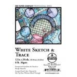 """Bee Paper® White Sketch & Trace Roll 12"""" x 20yd: White/Ivory, Roll, 12"""" x 20 yd, Tracing, (model B515R-2012), price per roll"""