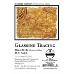 "Bee Paper® Glassine Tracing Roll 24"" x 20yd; Format: Roll; Size: 24"" x 20 yd; Type: Tracing; Weight: 25 lb; (model B522R-2024), price per roll"