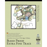 "Bee Paper® Bleed Proof Extra Fine Trace Pad 11"" x 14""; Binding: Tape Bound; Format: Pad; Quantity: 50 Sheets; Size: 11"" x 14""; Type: Tracing; Weight: 25 lb; (model B525T50-1114), price per 50 Sheets pad"