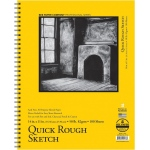 "Bee Paper® Quick Rough Sketch Pad 14"" x 11""; Binding: Wire Bound; Format: Pad; Quantity: 100 Sheets; Size: 11"" x 14""; Type: Sketching; Weight: 50 lb; (model B6075RS100-1114), price per 100 Sheets pad"