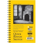 "Bee Paper® Quick Rough Sketch Pad 8"" x 5""; Binding: Wire Bound; Format: Pad; Quantity: 100 Sheets; Size: 5"" x 8""; Type: Sketching; Weight: 50 lb; (model B6075RS100-58), price per 100 Sheets pad"