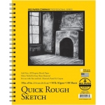 "Bee Paper® Quick Rough Sketch Pad 10"" x 8""; Binding: Wire Bound; Format: Pad; Quantity: 100 Sheets; Size: 8"" x 10""; Type: Sketching; Weight: 50 lb; (model B6075RS100-810), price per 100 Sheets pad"