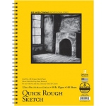 "Bee Paper® Quick Rough Sketch Pad 12"" x 9""; Binding: Wire Bound; Format: Pad; Quantity: 100 Sheets; Size: 9"" x 12""; Type: Sketching; Weight: 50 lb; (model B6075RS100-912), price per 100 Sheets pad"