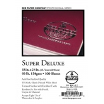 "Bee Paper® Super Deluxe Paper Sheets 18"" x 24""; Color: White/Ivory; Format: Sheet; Quantity: 100 Sheets; Size: 18"" x 24""; Type: Drawing; Weight: 93 lb; (model B808P100-1824), price per 100 Sheets"