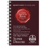 "Bee Paper® Super Deluxe Paper Pad 6"" x 4""; Binding: Wire Bound; Color: White/Ivory; Format: Pad; Quantity: 60 Sheets; Size: 4"" x 6""; Type: Drawing; Weight: 93 lb; (model B808S60-406), price per 60 Sheets pad"