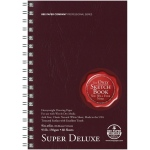 "Bee Paper® Super Deluxe Paper Pad 9"" x 6""; Binding: Wire Bound; Color: White/Ivory; Format: Pad; Quantity: 60 Sheets; Size: 6"" x 9""; Type: Drawing; Weight: 93 lb; (model B808S60-609), price per 60 Sheets pad"
