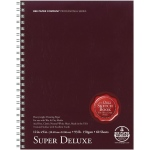 "Bee Paper® Super Deluxe Paper Pad 12"" x 9""; Binding: Wire Bound; Color: White/Ivory; Format: Pad; Quantity: 60 Sheets; Size: 9"" x 12""; Type: Drawing; Weight: 93 lb; (model B808S60-912), price per 60 Sheets pad"