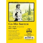 """Bee Paper® Co-Mo Sketch Roll 18"""" x 10yd; Color: White/Ivory; Format: Roll; Size: 18"""" x 10 yd; Type: Drawing; Weight: 80 lb; (model B820R-1018), price per roll"""